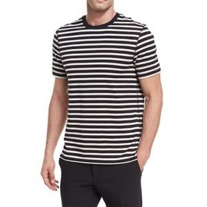 Vince Men's Smooth Jersey Striped Tee XL